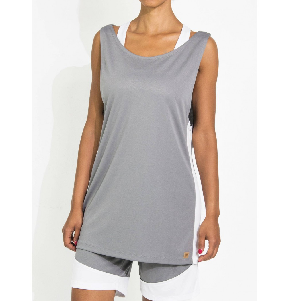 Oversize tanktop with coolmax technology